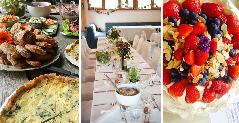 best catering companies in South Devon - The Kitchen Table