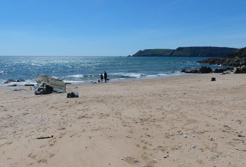 Secret Devon Beaches - Gara Rock beach feature