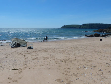 Secret Devon Beaches - Gara Rock beach feature