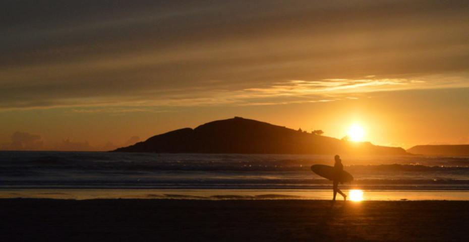 Bantham Beach Surfing 3