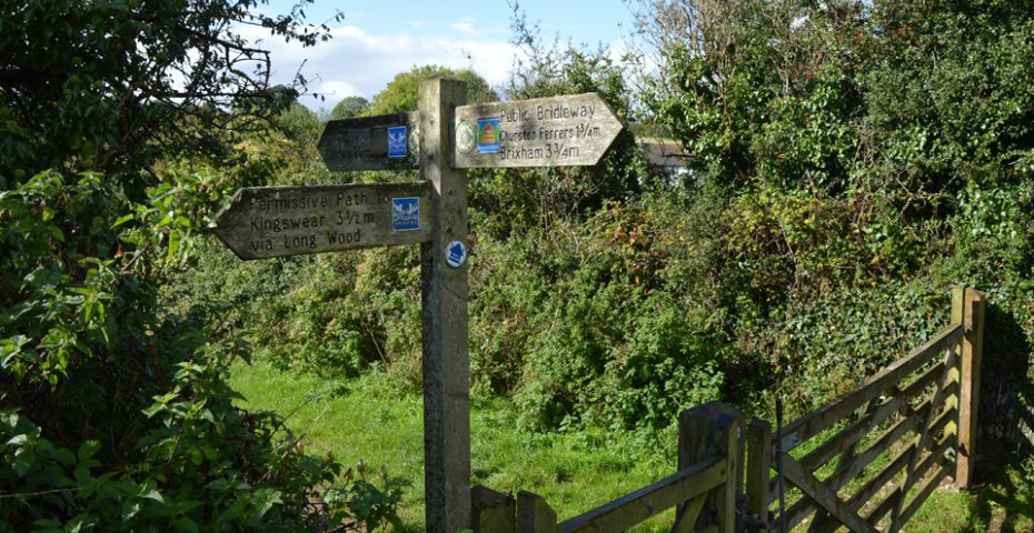 Dartmouth to Dittisham walk - countryside
