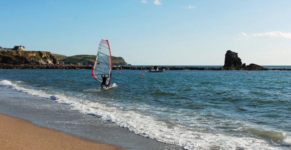 South Milton Sands Windsurf