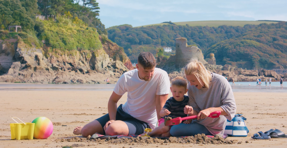South Sands beach traditional activities