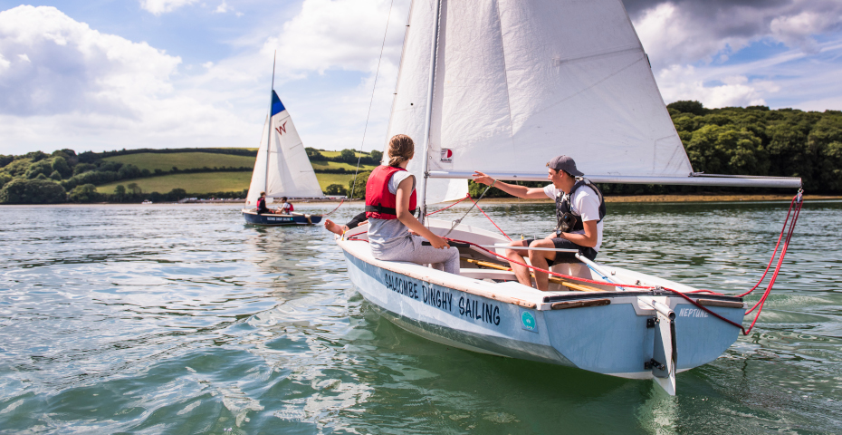 Things to do in Salcombe dinghy