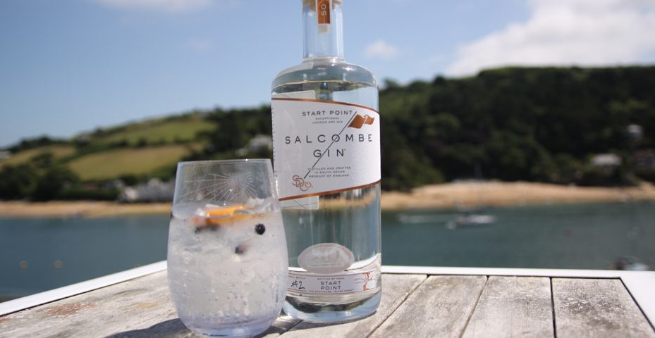 local Christmas gifts made in South Devon - Salcombe Gin