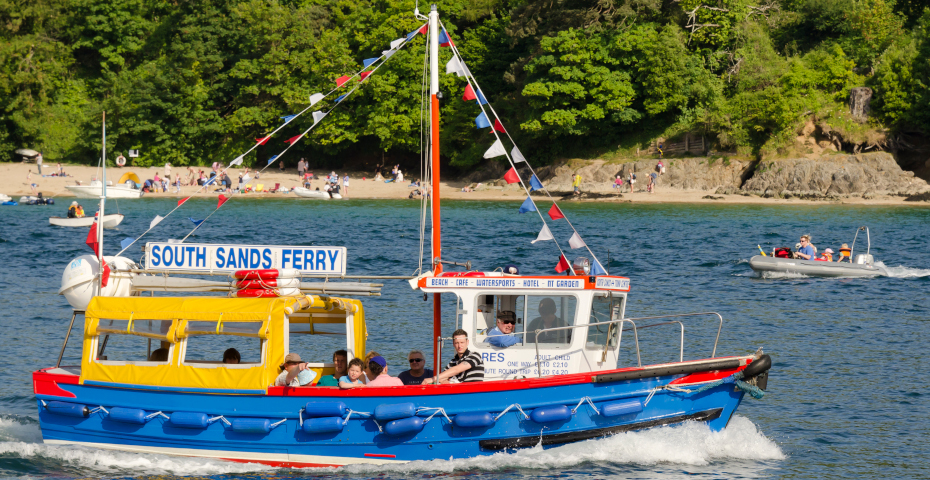 Things to do in Salcombe_South Sands Ferry water