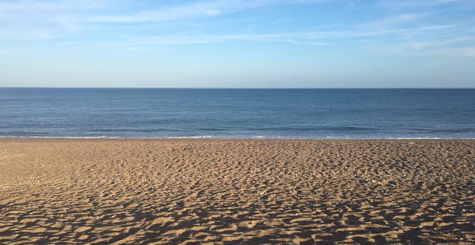 Central Slapton Sands beach