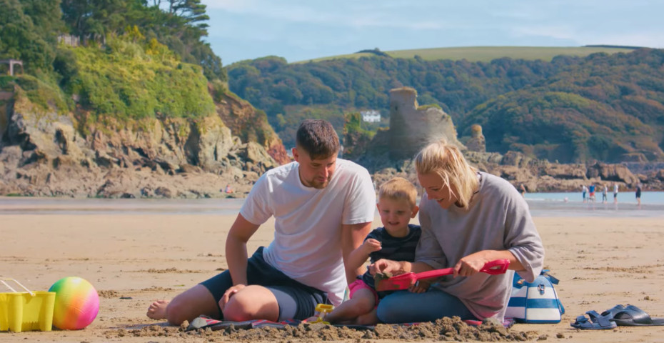 Things to do in South Devon sandcastle