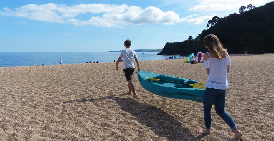 Things to do in South Devon_kayak