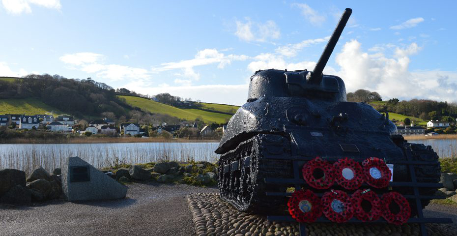 Torcross memorial at Slapton Sands - free things to do in South Devon