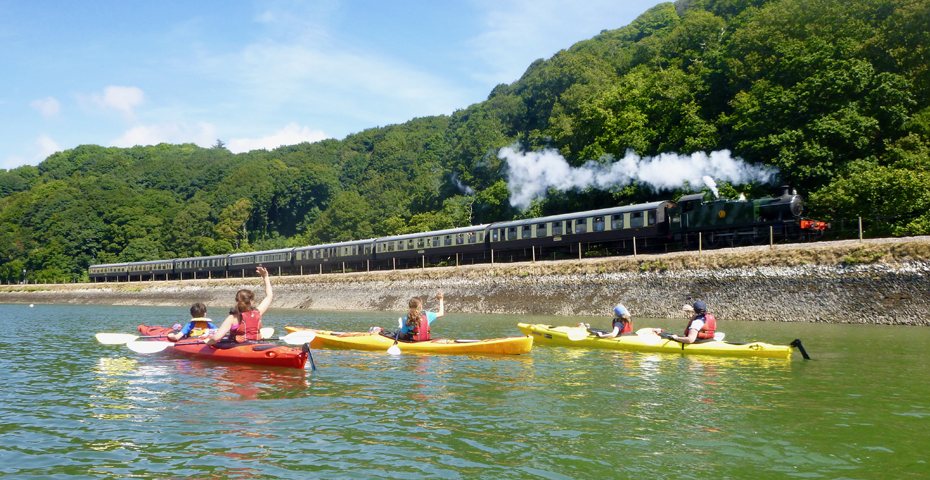 Things to do in South Devon_train