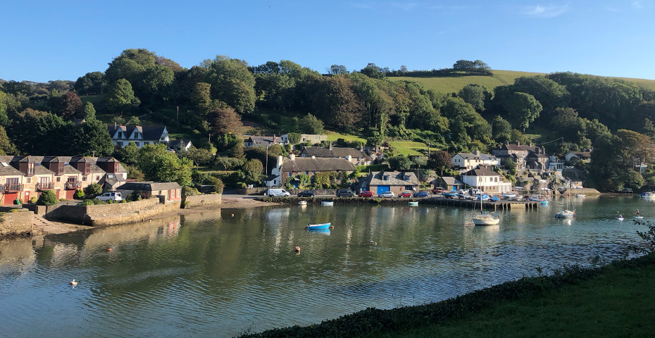Newton Ferrers, nr Noss Mayo - the River Yealm