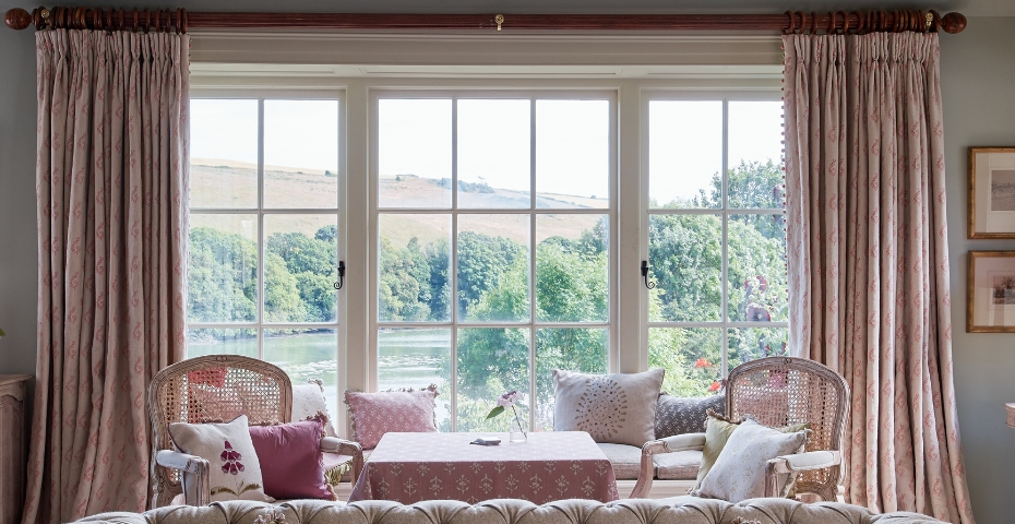 Susie Watson Designs - view framing interiors