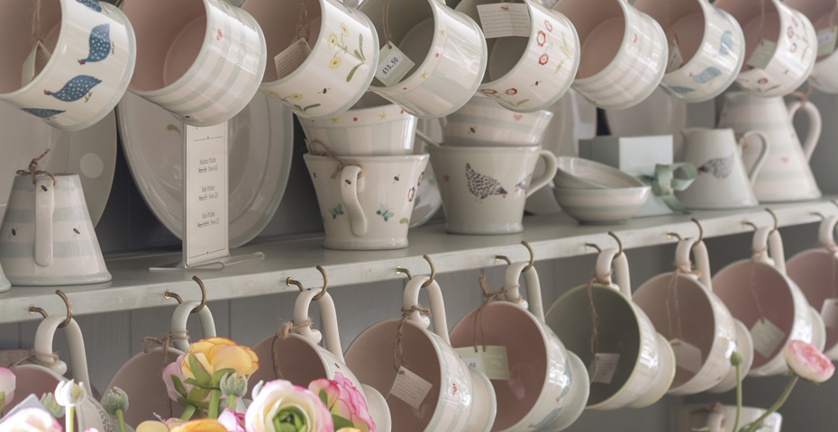 Susie Watson Designs pottery
