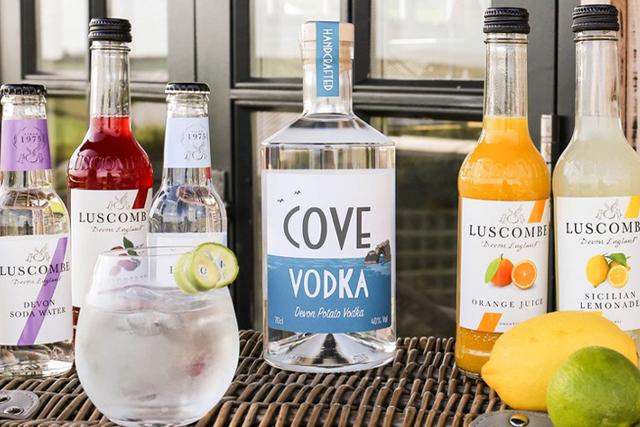 South Devon Christmas gift ideas - Devon Cove Vodka