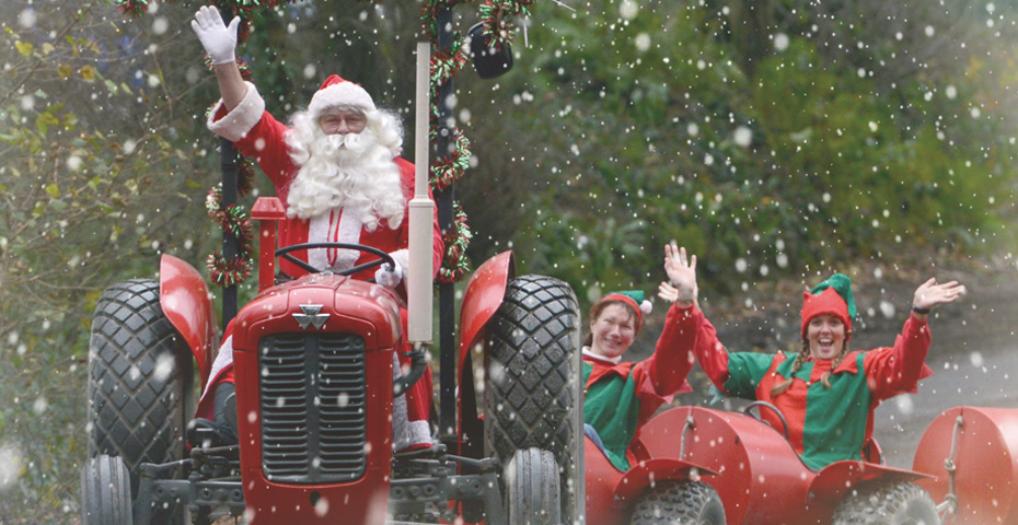Where to see Santa in South Devon - Pennywell Farm