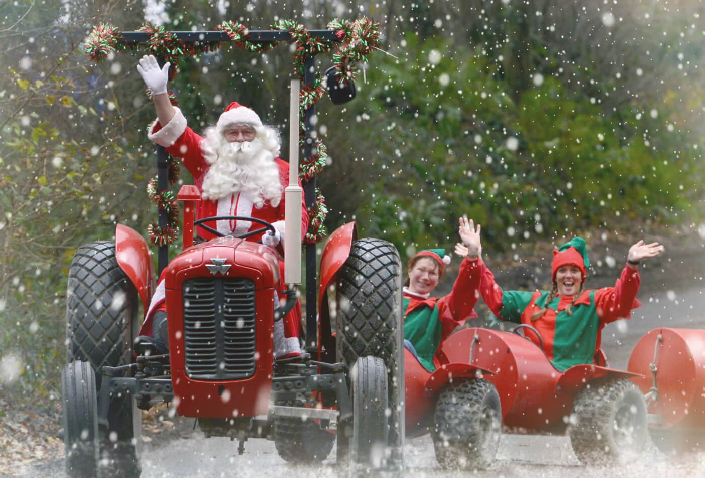 Santa in Devon - Pennywell Farm