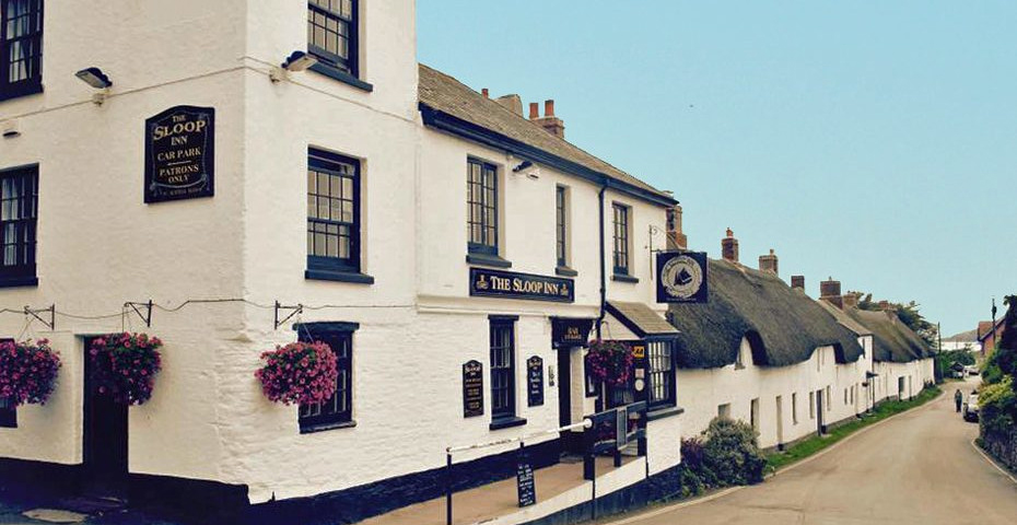 Devon pub walks - The Sloop Inn Bantham