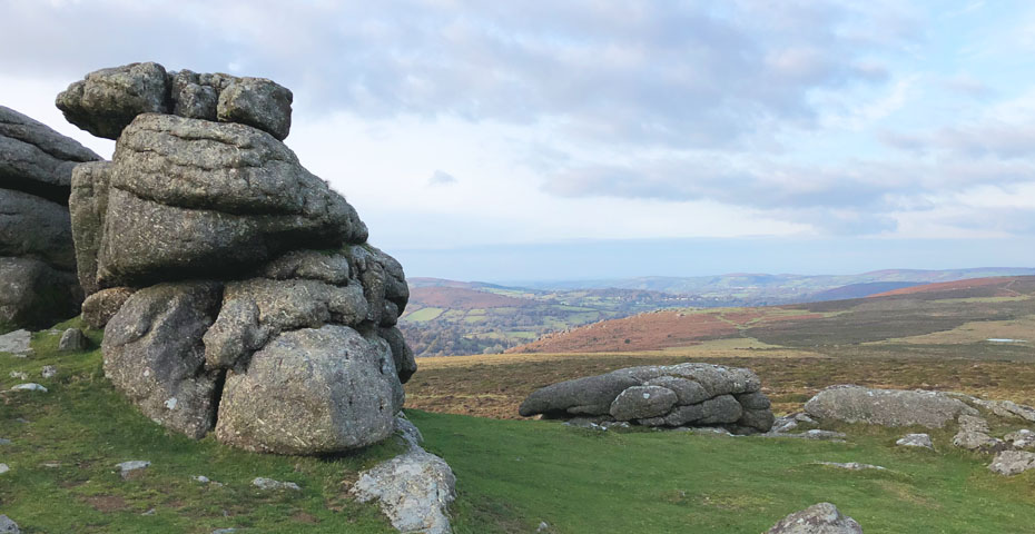 Dartmoor walks - Haytor