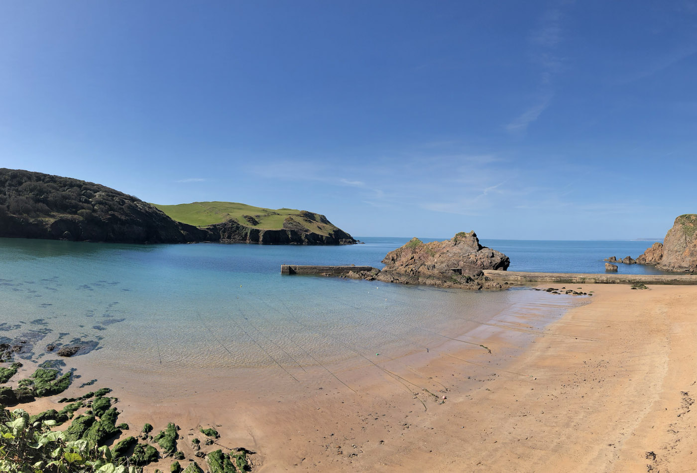 Instagrammable places in South Devon - Hope Cove feature image