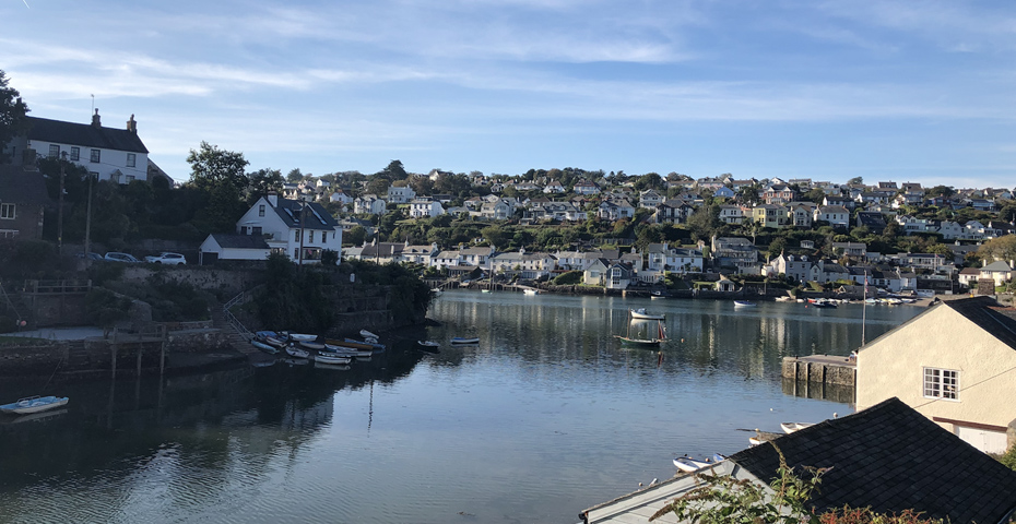 The Trouble with Maggie Cole filming locations - Noss Mayo, Newton Creek