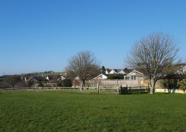 Stoke Fleming playground and village hall copy