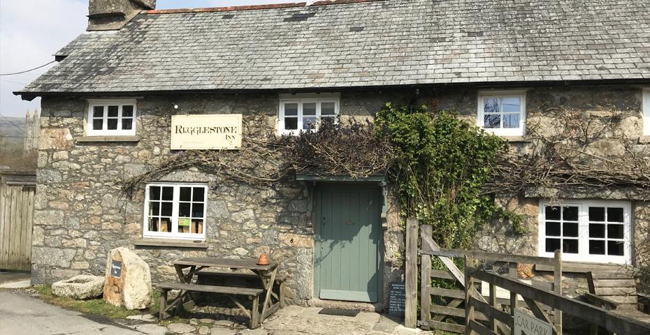 Rugglestone Inn - Dartmoor walks