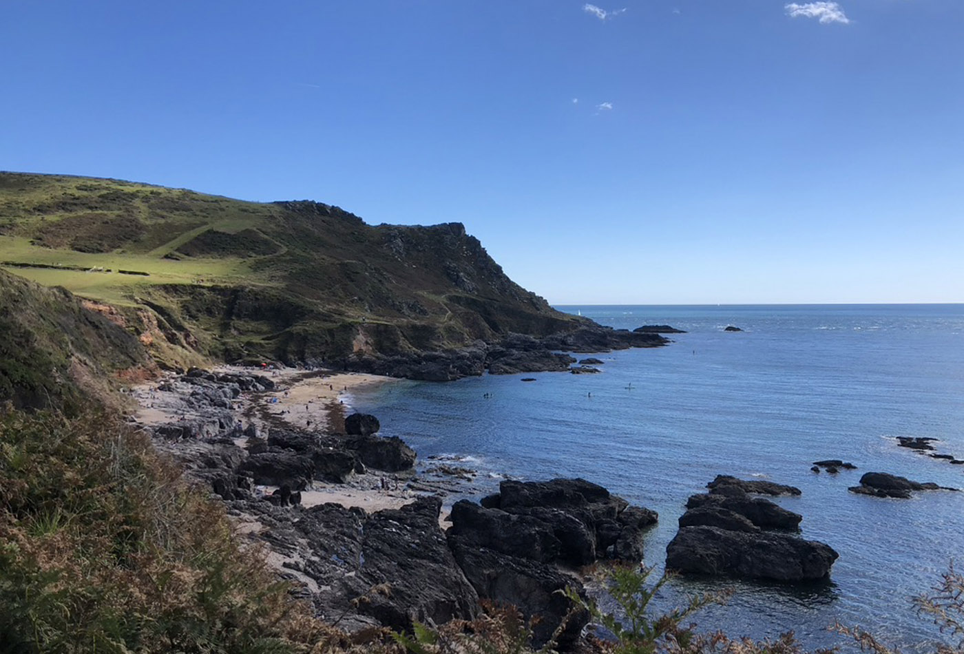 Mattiscombe Beach - secret Devon beaches
