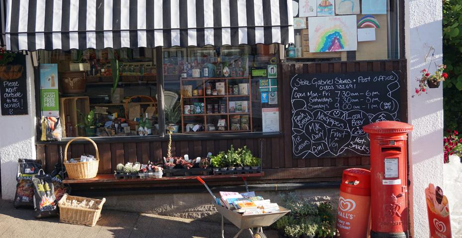 Stoke Gabriel village shop