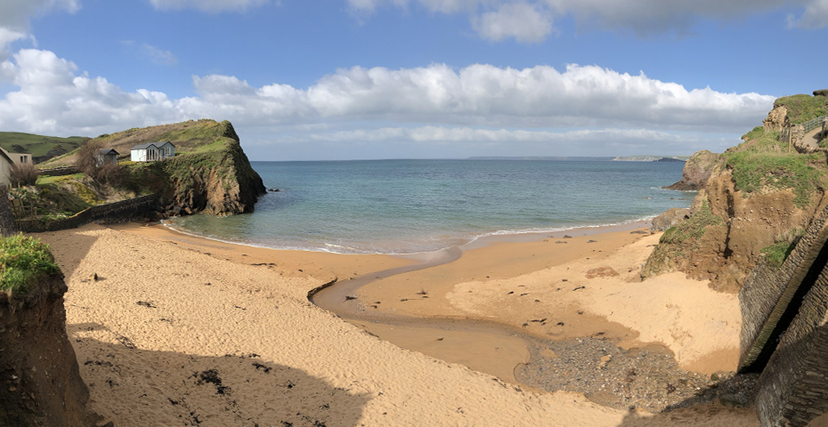 Mouthwell Sands - Hope Cove beaches