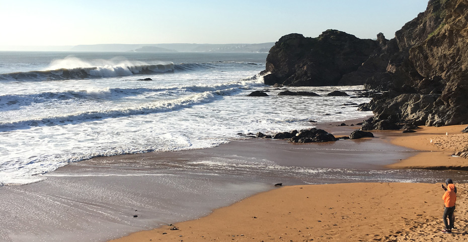 Mouthwell Sands - one of the Hope Cove beaches