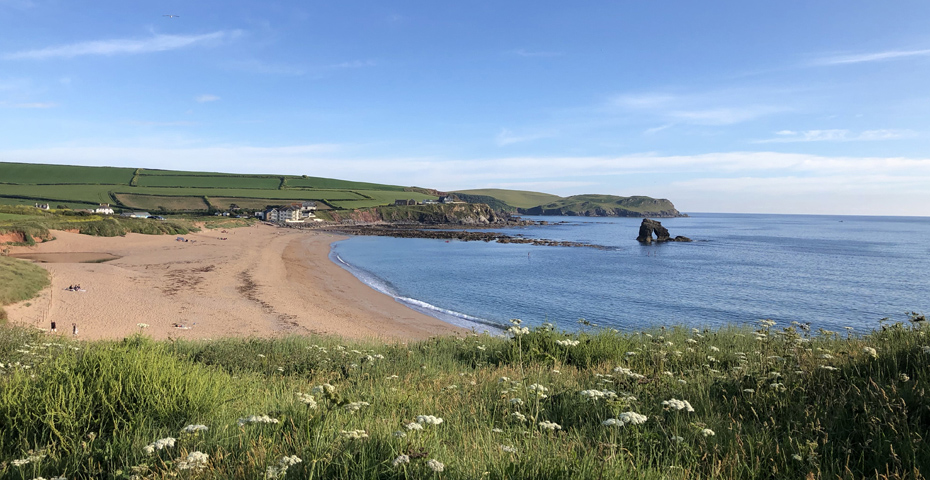 South Milton Sands near Hope Cove beaches