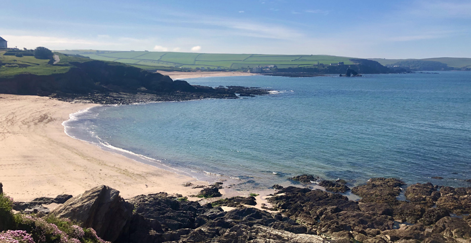 Thurlestone Beach is close to both Hope Cove Beaches