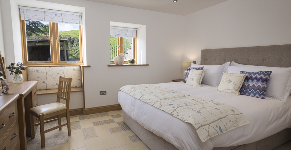 Butterwell Barn bedroom