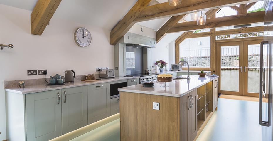Butterwell Barn kitchen