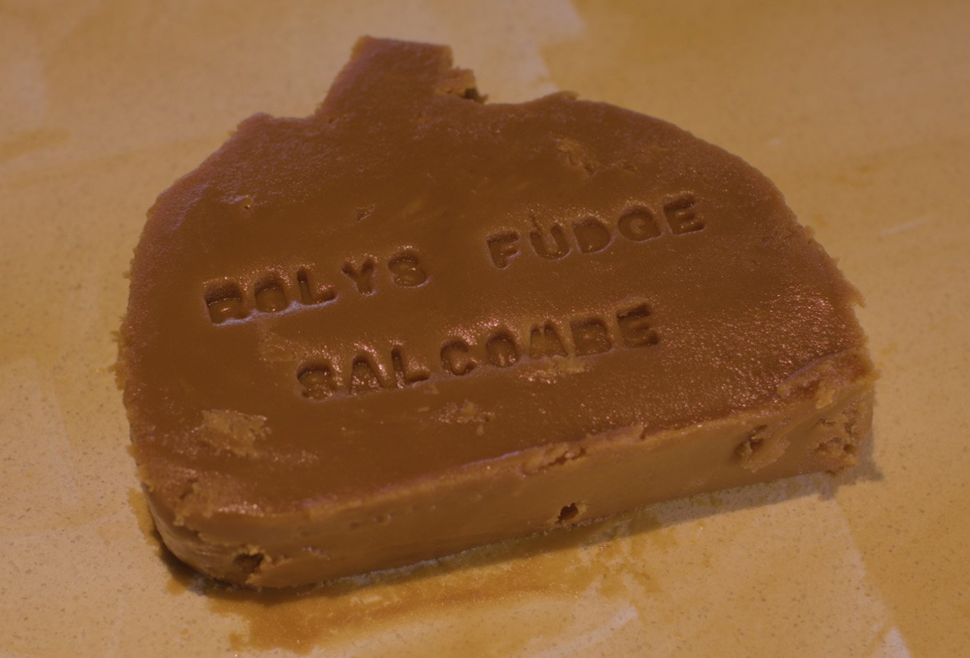 Fresh South Devon fudge