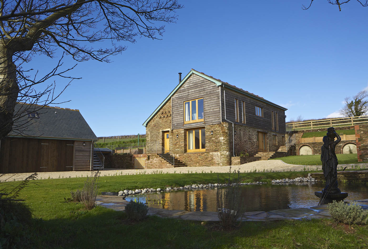 Barn conversion example - pholiday let planning permission