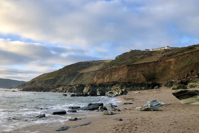 Christmas things to do in Devon - the beach