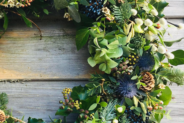 Christmas things to do in Devon - Christmas wreaths