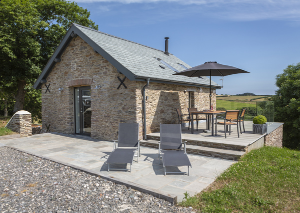 holiday let planning permission - Slapton holiday cottage example