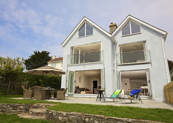 Salcombe holiday home example - holiday let planning permission
