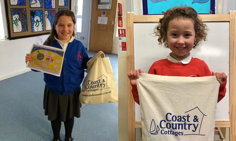 Coast & Country Cottages calendar competition winners