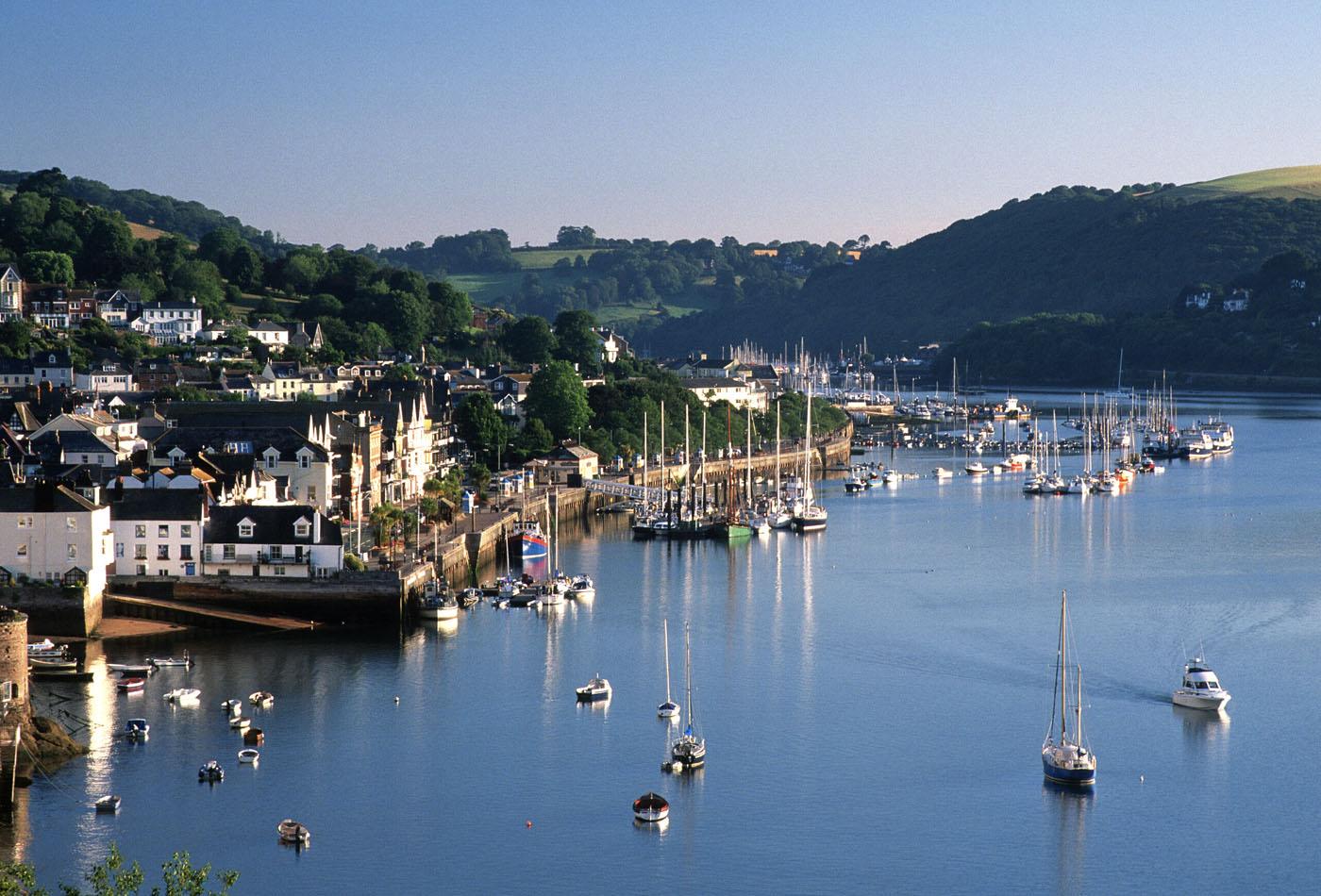 Dartmouth walks - view from Dartmouth