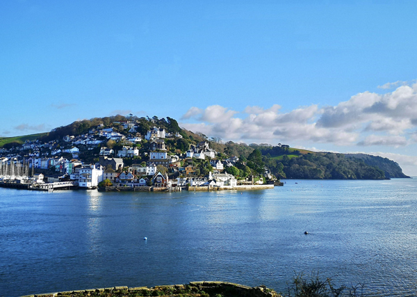 Dartmouth walks - view of Kingswear