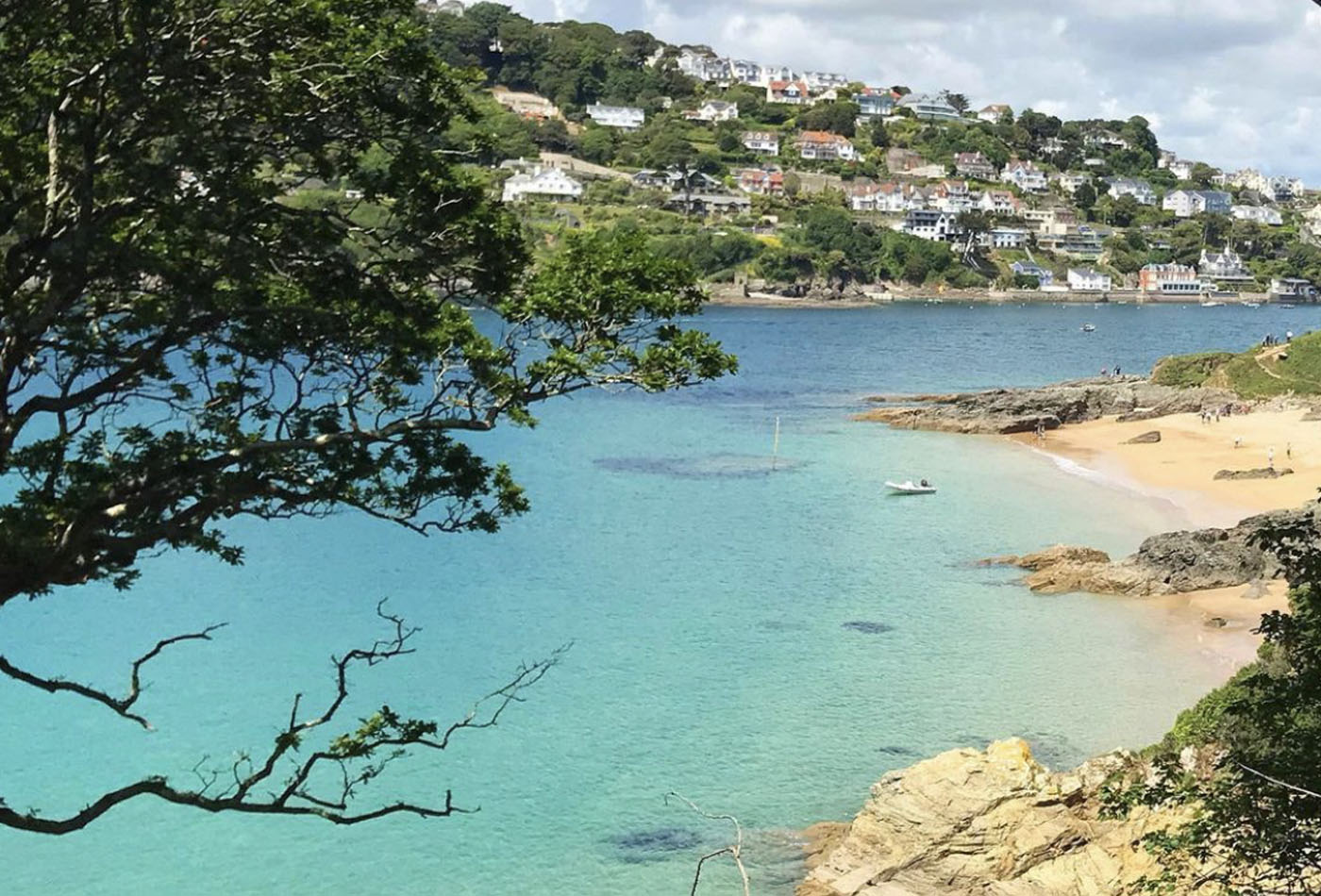 Salcombe walks - view from East Portlemouth