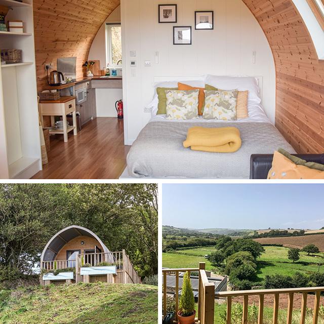 Knap Mill Pod - Best staycation ideas South Devon