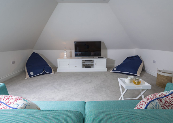 Creating a child friendly holiday home - provide ample seating for the whole family