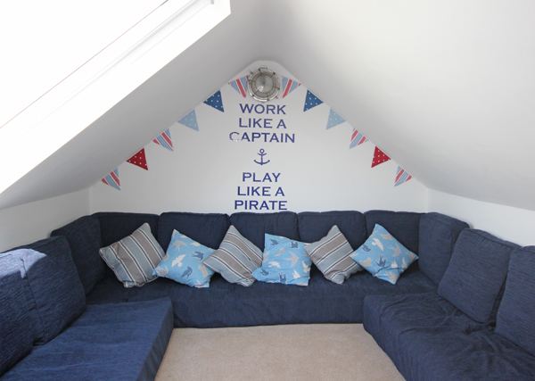 Creating a child friendly holiday home - create a playroom or snug area