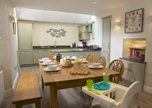 Creating a child friendly holiday home - have baby friendly equipment available