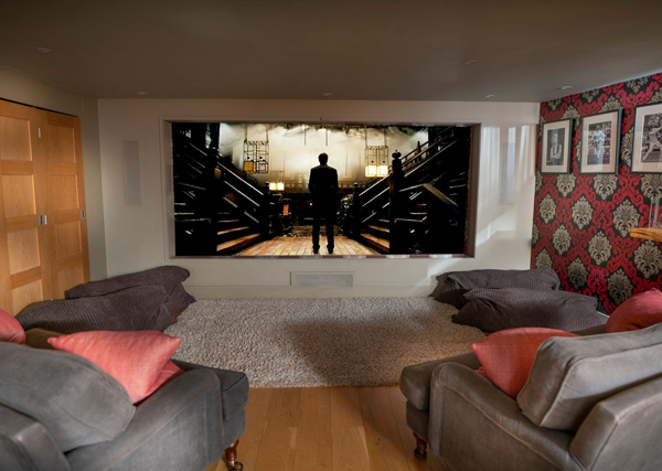 How to furnish a holiday let cinema